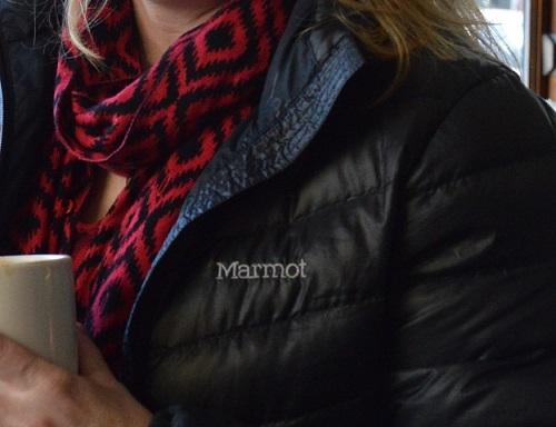 Closeup of coat