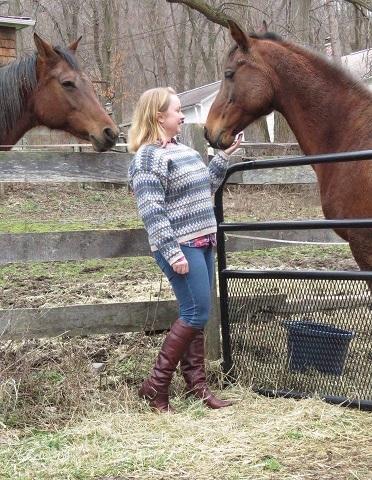 Kirsten w horses