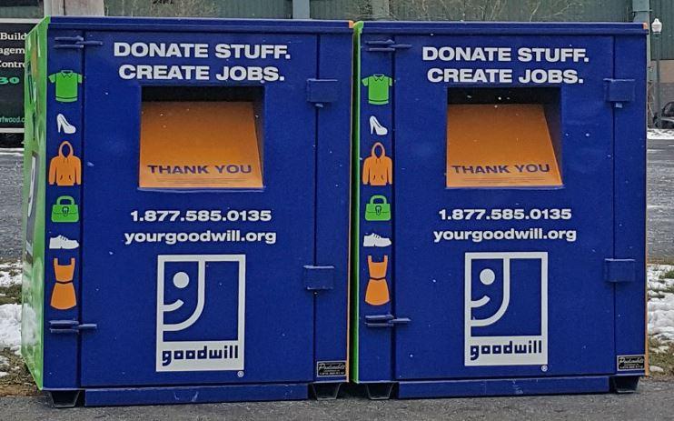 Goodwill Donation Bin 680 Furnace Hills Pk Lititz, PA 17543